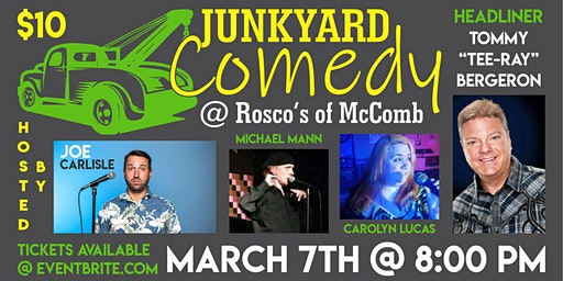 Comedy at the Junkyard