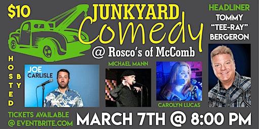 Comedy at the Junkyard