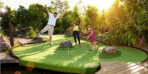 Year 4: Putt putt mini golf at Victoria Park Golf.