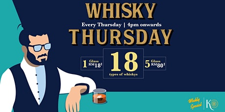 Whisky Thursday at Knowhere tickets