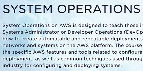 System Operations on AWS tickets
