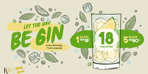 Let The Day Be Gin