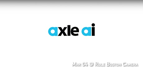 BAVUG 2020 March | axle.ai tickets