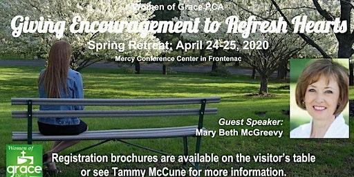 Grace PCA Women's Spring 2020 Retreat