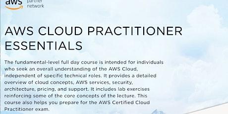 AWS Cloud Practitioner Essentials tickets