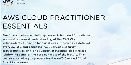 AWS Cloud Practitioner Essentials tickets