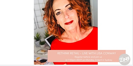POSTPONED******WHERE'S THE MONEY HIDING IN YOUR SALON WITH LISA CONWAY (SYDNEY) tickets