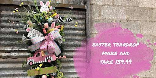 Easter Teardrop Make and Take