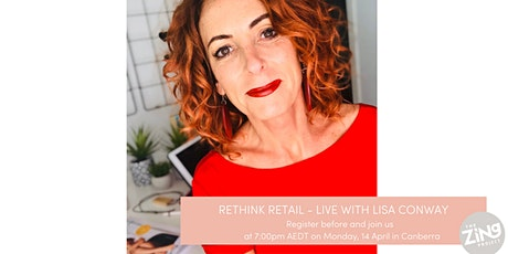 POSTPONED*******WHERE'S THE MONEY HIDING IN YOUR SALON WITH LISA CONWAY (CANBERRA) tickets