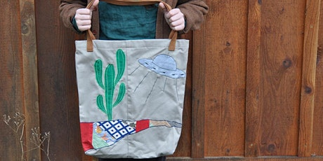 Fabric Collage Bags workshop at Ragfinery tickets