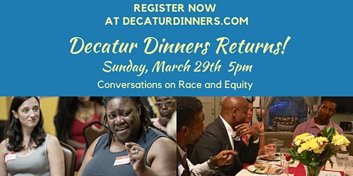 Facilitator Signup - Decatur Dinners March 29 2020