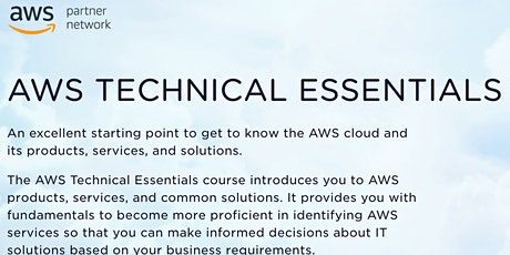 AWS Technical Essentials tickets
