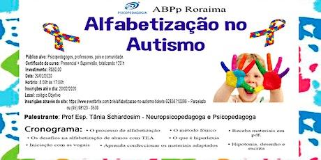 Alfabetização no Autismo ingressos