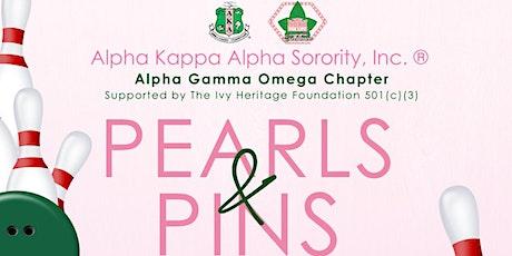 AKA -Alpha Gamma Omega HBCU Pearls & Pins Bowling Party tickets