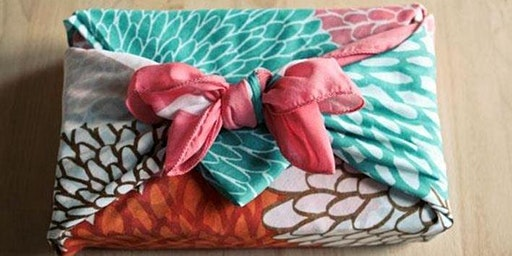 Furoshiki - Japanese eco fabric wrapping (Nowra)