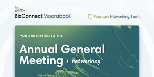 BizConnect February AGM & Networking Event