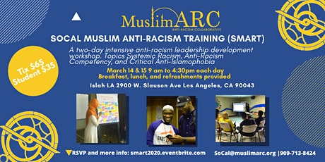 SoCal Muslim Anti-Racism Training -SMART2020 tickets