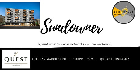 Sundowner - Quest Joondalup tickets