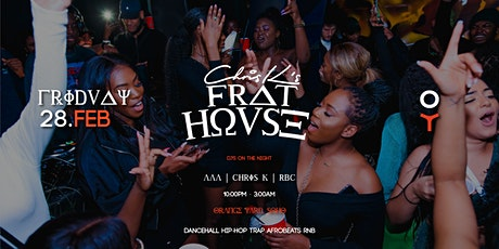 FRAT HOVSE -  BASHMENT, TRAP, AFROBEATS, RNB tickets