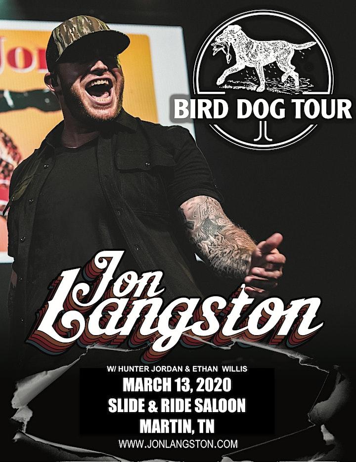 Jon Langston LIVE  in  Martin image
