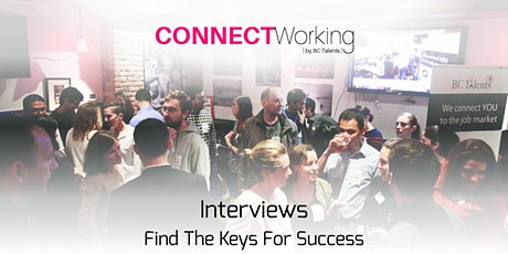 CONNECTWorking March 3rd, 2020 - Interviews, Find The Keys for Success tickets