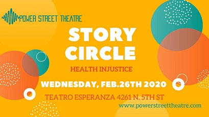 Story Circle- Health Injustice tickets