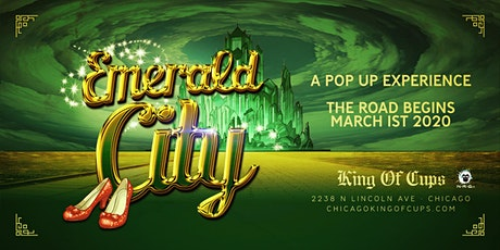 Emerald City Pop Up At The King Of Cups tickets