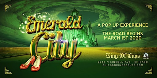 Emerald City Pop Up At The King Of Cups