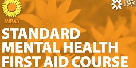 Standard Mental Health First Aid Course - Midland tickets