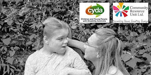 CRU and CYDA Disability Royal Commission workshop