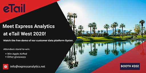 Meet Express Analytics at eTail West 2020! Booth #202
