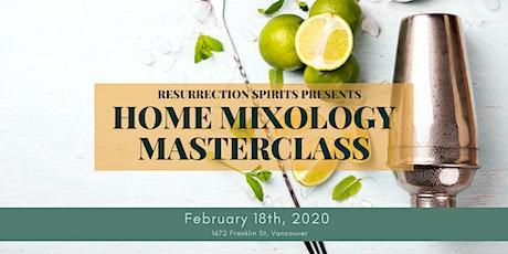Home Mixology Masterclass tickets