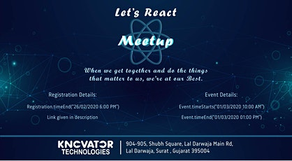 Let's React - Meetup of React Enthusiasts tickets