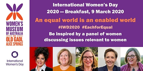 Women's Museum of Australia, International Women's Day Breakfast 2020 tickets