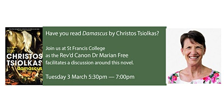 Book Chat: Damascus by Christos Tsiolkas tickets