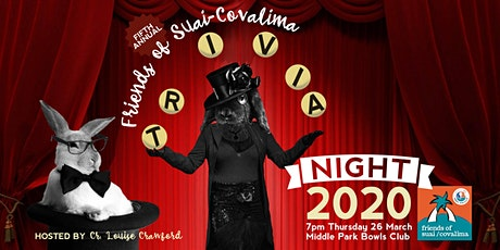 Friends of Suai Covalima Trivia Night 2020 tickets