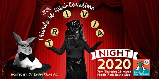 Friends of Suai Covalima Trivia Night 2020