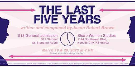 The Last Five Years presented by Smet Theatrics