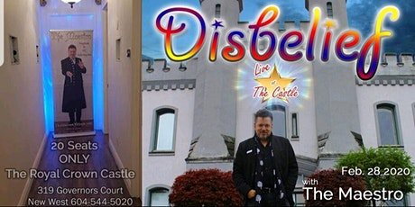 Disbelief - A Magic Show tickets