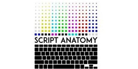 SCRIPT ANATOMY: *ONLINE* Fellowship Bio & Essay Workshop (3) tickets