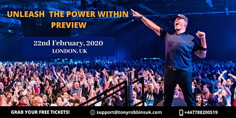 Tony Robbins - Unleash The Power Within Preview tickets