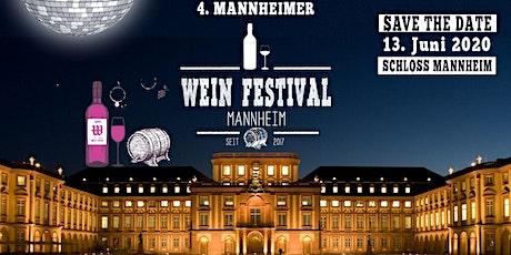 4. MANNHEIMER WEINFESTIVAL @ SCHLOSS MANNHEIM Tickets