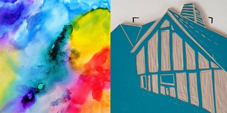 Creativity with Watercolour & Linocut Printing Workshop tickets