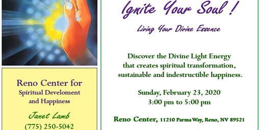 """""""Ignite Your Soul"""", Live in Your Divine Essence"""