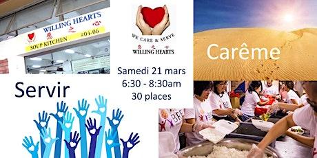 Service de Carême : Préparer des repas à l'aube avec Willing Hearts  tickets