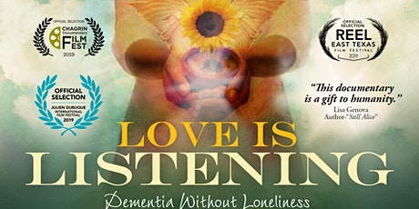 """Love is Listening: Dementia without Loneliness"" Film Screening tickets"
