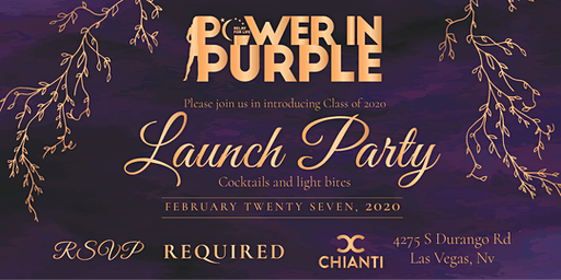 Las Vegas Woman Power In Purple Launch Party  - American Cancer Society