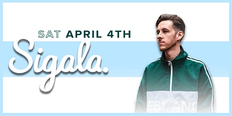 "Avalon Presents SIGALA - ""World Tour"" Part Two tickets"