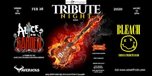 Tribute Night with Alice in the Garden & Bleach!