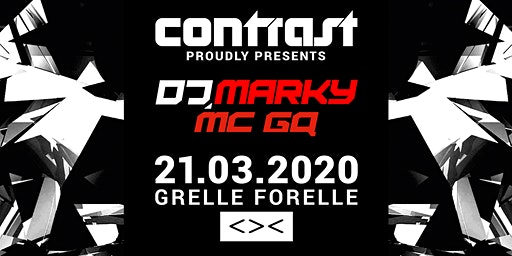 CONTRAST presents DJ MARKY & MC GQ | 18+